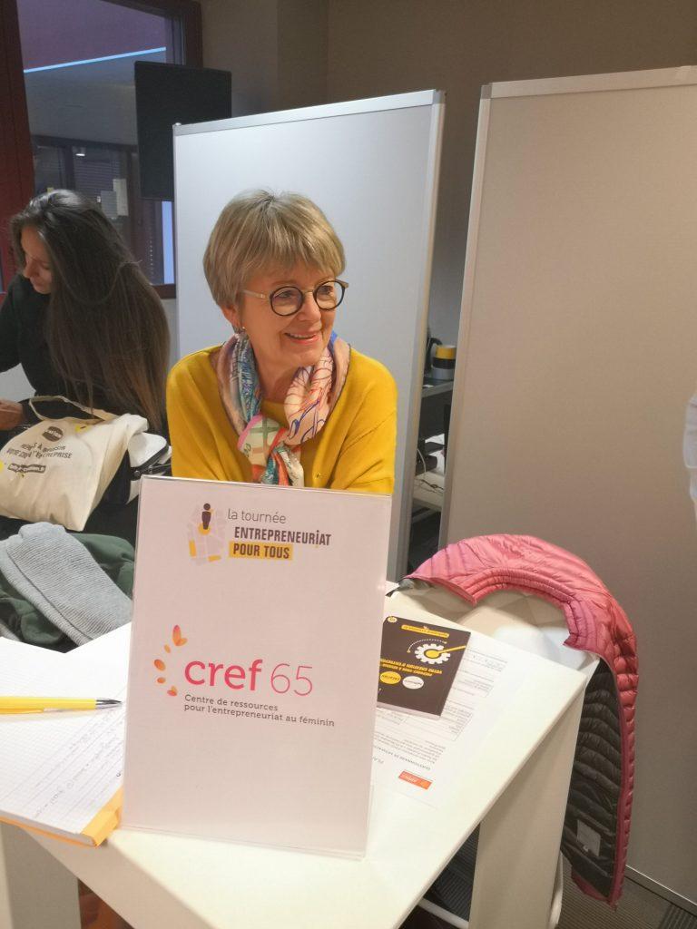 stand du CREF65 à Entrepreneuriat pour tous 2019