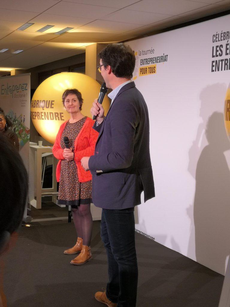 intervention Nathalie Curiel Entrepreneuriat pour tous 2019